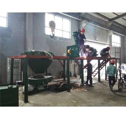 钢厂脱氧剂安装现场